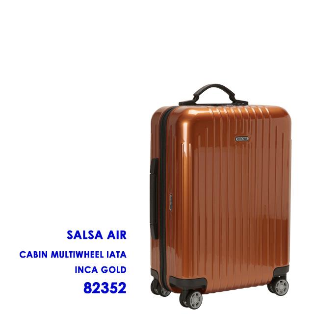 """RIMOWA, rimowa-cabin multi wheel """"SALSA AIR, ultra-light"""" four-wheeled suitcase (Inca gold ) SALSA AIR INCA GOLD 823.52"""