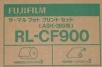【送料無料】FUJIFILM・フジフィルム RL-CF900 サーマルフォトプリントセット(ペーパー+インクリボン各2ロールのセット)Lサイズ用900枚 T RL-CF900