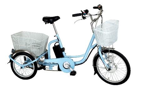 【送料無料】【北海道・沖縄・離島不可】アシらくチャーリー 電動アシスト三輪自転車 ミムゴ MG-TRM20EB メーカー直送品のため【単品購入】【クレジット決済のみ】です
