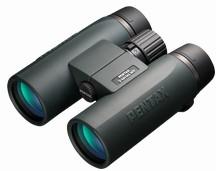 ラッピング無料 【送料無料】PENTAX ペンタックス リコー 防水大口径の本格ダハタイプ双眼鏡 SD 8×42 WP ケース・ストラップ付