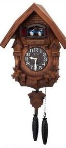【送料無料】【日本製】RHYTHM・リズム時計 掛け時計 鳩時計 カッコーテレスR 4MJ236RH06