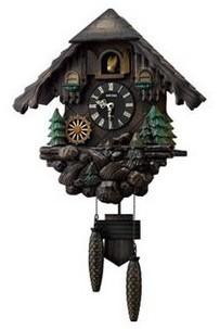 【送料無料】【日本製】【日本製】RHYTHM・リズム時計 掛け時計 鳩時計 カッコーヴァルト 4MJ422SR06