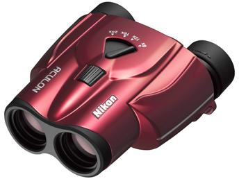 ラッピング無料 【送料無料】Nikon・ニコン双眼鏡 ACULON T11 8-24X25 レッド ニコン アキュロン T11 8-24×25【***特別価格***】