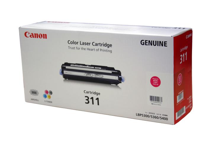【送料無料】【純正品】Canon キヤノン トナーカートリッジ 311M マゼンタ