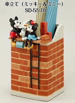 6/30までポイント3倍【送料無料】SETOCRAFT・セトクラフト ディズニー Disney CLASSIC VINTAGE SERIES 傘立て ミッキー&ミニー SD-5578-1800【***特別価格***】
