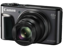 【送料無料】Canon・キヤノン 光学40倍ズームデジカメ PowerShot SX720 HS ブラック【】【***特別価格***】