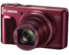 【送料無料】Canon・キヤノン 光学40倍ズームデジカメ PowerShot SX720 HS レッド【】【***特別価格***】