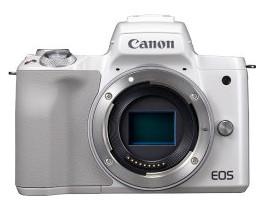 【送料無料】Canon・キヤノン ミラーレスカメラ EOS Kiss M ボディ ホワイト【***特別価格***】