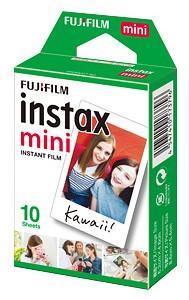 フィルム10枚入り FUJIFILM フジフィルム 秀逸 インスタントカメラ mini 1P チェキ用フィルム トレンド instax