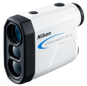 【送料無料】Nikon・ニコン COOLSHOT 20 GII 直線距離専用モデルゴルフ用レーザー距離計 クールショット COOLSHOT 20 GII【***特別価格***】