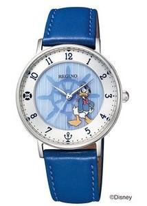 【送料無料】シチズン時計 REGUNO・レグノ ディズニーコレクション ソーラー時計 KP3-112-10 ドナルド 【ラッピング無料】