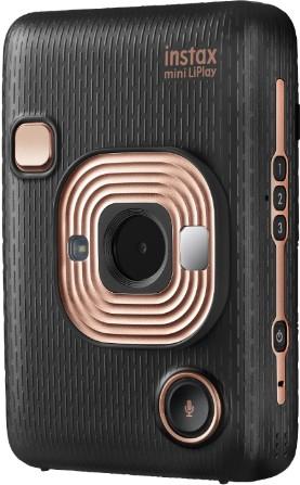 【送料無料】フジフイルム FUJIFILM INS MINI HM1 EB カメラ&スマートフォン用プリンター チェキ instax mini LiPlay ELEGANT BLACK【***特別価格***】