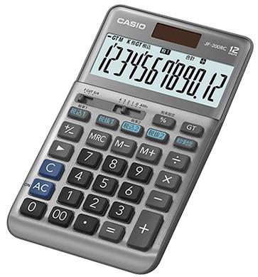 【ゆうパケットで送料無料】【代引き不可】CASIO カシオ 軽減税率電卓 ジャストタイプ JF-200RC【***特別価格***】