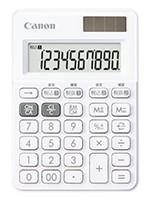 【ゆうパケットで送料無料】【代引き不可】キヤノン canon 軽減税率対応電卓 LS-100WT-SW スノーホワイト【***特別価格***】