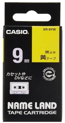 CASIO・カシオネームランド用 スタンドテープ XR-9YW 黄色