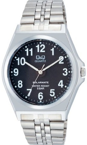 ラッピング無料 ゆうパケットで送料無料 シチズン時計 Q モデル着用&注目アイテム 見やすいソーラー腕時計 販売期間 限定のお得なタイムセール H980-205 男性用ソーラー腕時計