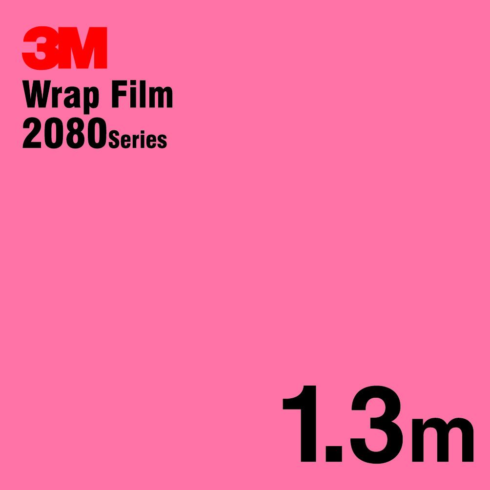 【送料無料! (代引は有料)】 3Mラップフィルム 2080 シリーズ2080-G103 ホットピンク 152.4cm x 1.3m1080シリーズのグレードアップフィルム