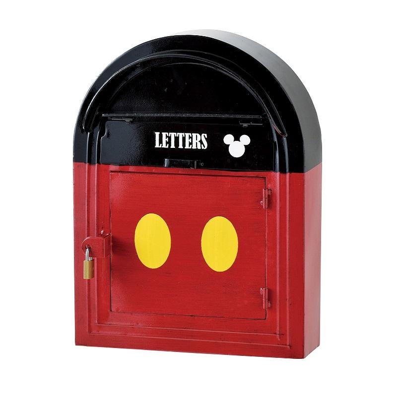 セトクラフト SD-8210-1500 ウォールポスト ミッキー 【メーカー直送】【ポスト 宅配ボックス 郵便ポスト 壁掛けポスト 郵便受け 壁付け メールボックス おしゃれ ディズニー アンティーク】