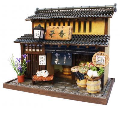 ビリー ドールハウスキット 8503 京町家キット 漬物屋【お取り寄せ商品】【ドールハウス、手作りキット、ジオラマ】