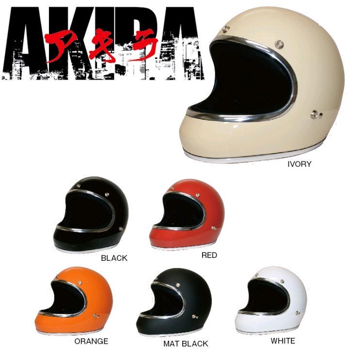DAMMTRAX ダムトラックス AKIRA アキラ ストリート系フルフェイスヘルメット Mサイズ(57~58cm)【メーカー直送品】【同梱/代引不可】【フルフェイスヘルメット】