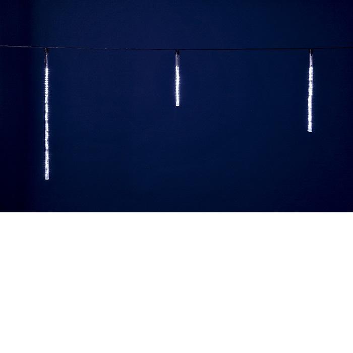 【送料無料(沖縄・離島を除く)】フローレックス KT-2400 10連ホワイトLEDアイスクルスノーフォールライト KT2400【メーカー直送品】【同梱/代引不可】【FLOREX・イルミネーション・店舗装飾】