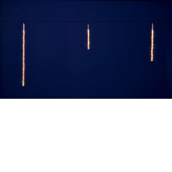 【送料無料(沖縄・離島を除く)】フローレックス KT-2401 10連ゴールドLEDアイスクルスノードロップライト KT2401【メーカー直送品】【同梱/代引不可】【FLOREX・イルミネーション・店舗装飾】