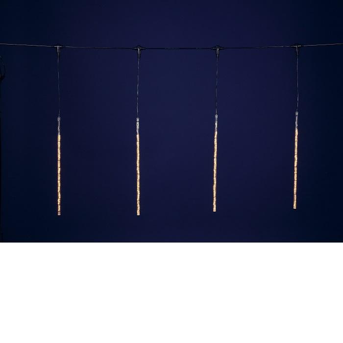 【送料無料(沖縄・離島を除く)】フローレックス KT-2331 ゴールドLEDスノードロップライト(50cm×10本) KT2331【メーカー直送品】【同梱/代引不可】【FLOREX・イルミネーション・店舗装飾】