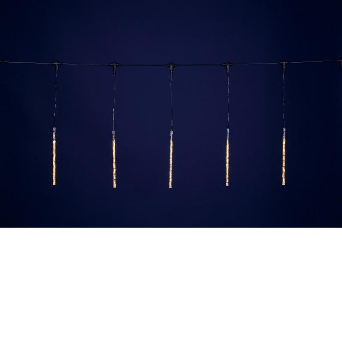 【送料無料(沖縄・離島を除く)】フローレックス KT-2328 ゴールドLEDスノードロップライト(30cm×10本) KT2328【メーカー直送品】【同梱/代引不可】【FLOREX・イルミネーション・店舗装飾】