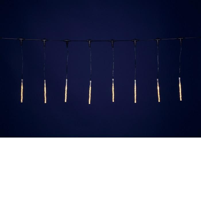 【送料無料(沖縄・離島を除く)】フローレックス KT-2325 ゴールドLEDスノードロップライト(20cm×10本) KT2325【メーカー直送品】【同梱/代引不可】【FLOREX・イルミネーション・店舗装飾】