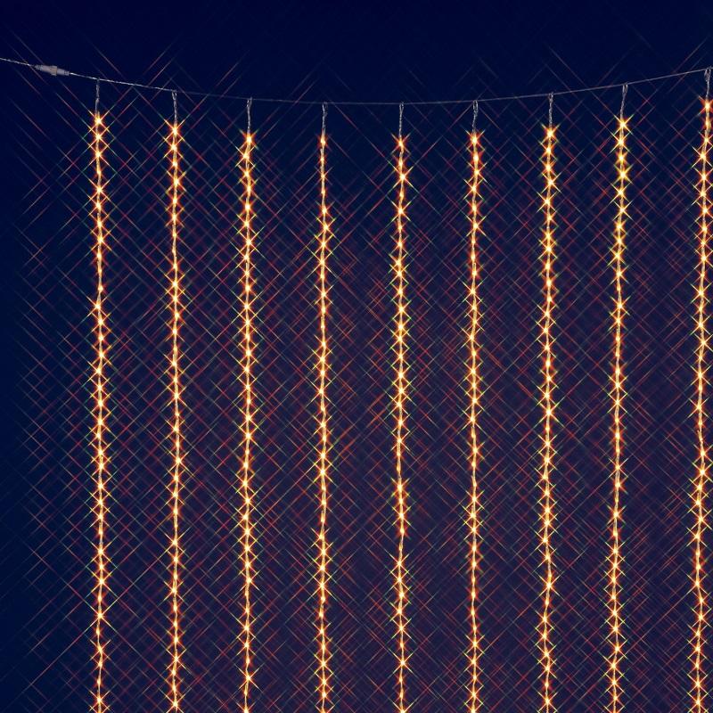 【送料無料(沖縄・離島を除く)】フローレックス KT-3069 2M×3MゴールドLEDカーテンドレープ KT3069【メーカー直送品】【同梱/代引不可】【FLOREX・イルミネーション・店舗装飾】
