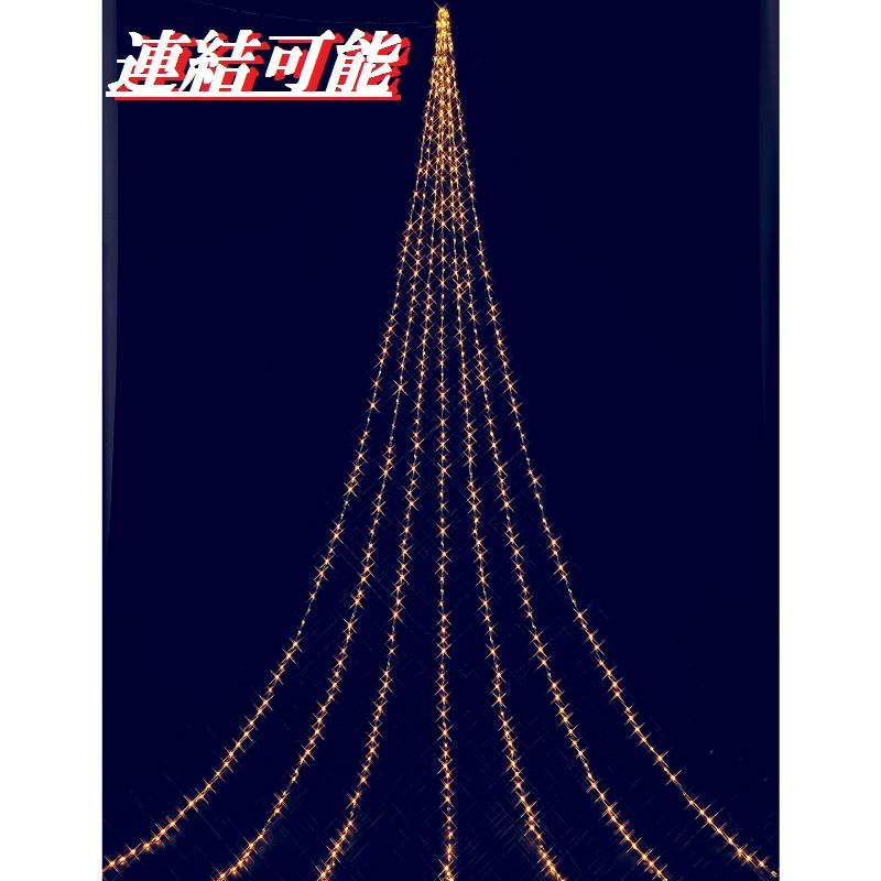 フローレックス KT-3102 IPX5ドレープライト連結タイプ ゴールドLED KT3102【送料無料(沖縄・離島を除く)】【メーカー直送品】【同梱/代引不可】【FLOREX・イルミネーション・店舗装飾】