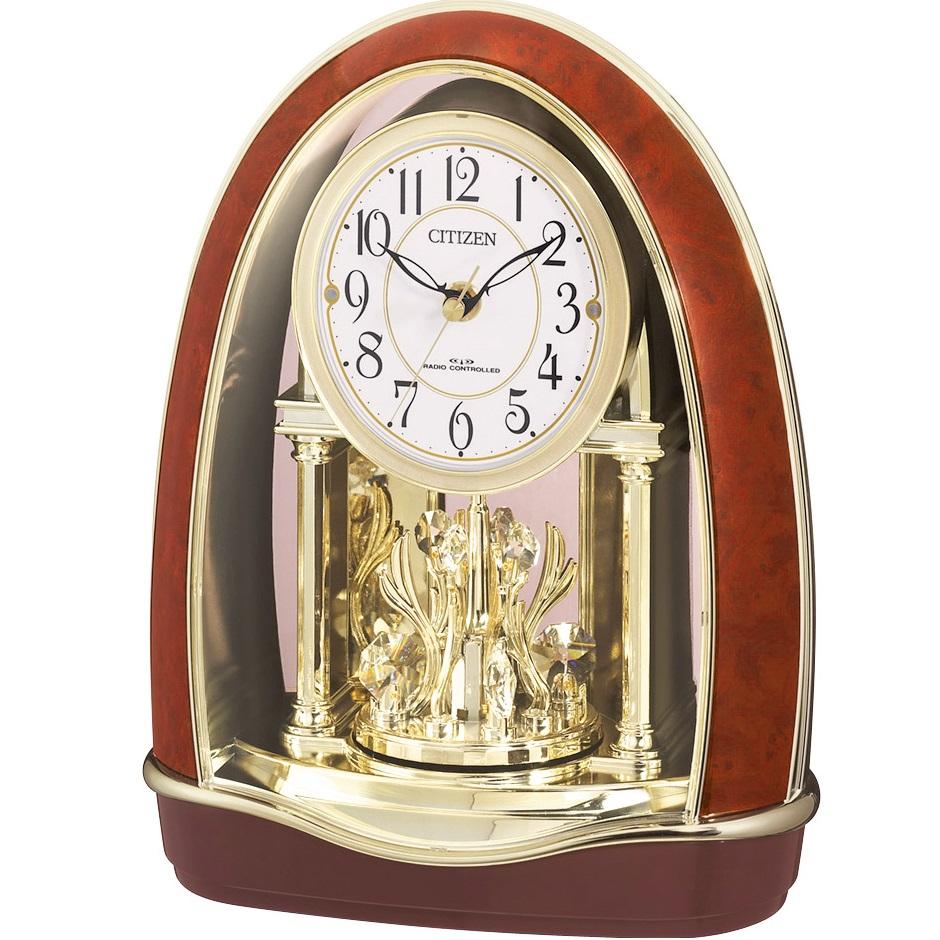 CITIZEN(シチズン) 4RN414-023 パルドリームR414 メロディー付 電波置き時計【リズム時計・置時計・クロック】【お取り寄せ商品】【代引不可】
