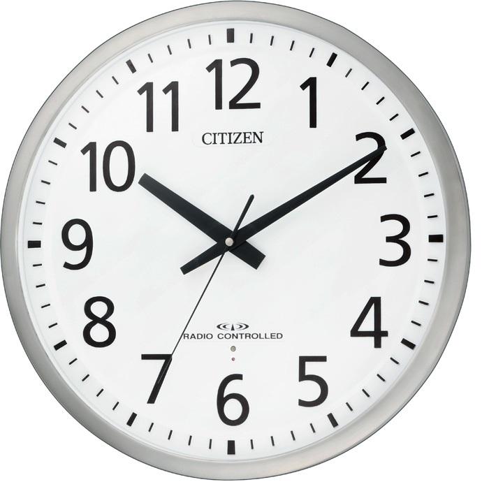 CITIZEN(シチズン) 8MY463-019 スペイシーM463 電波掛時計【リズム時計・掛時計・クロック】【お取り寄せ商品】【代引不可】