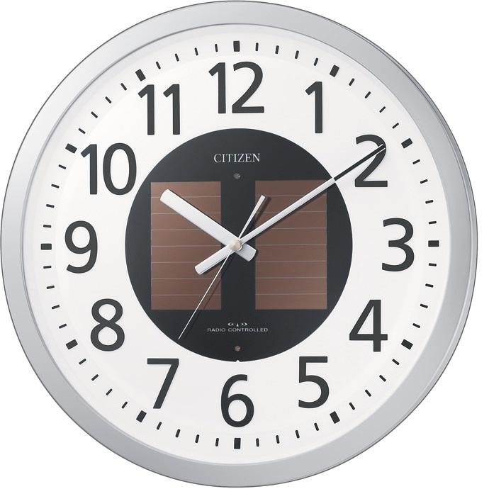 CITIZEN(シチズン) 4MY815-019 エコライフM815 電波掛時計【リズム時計・掛時計・クロック】【お取り寄せ商品】【代引不可】