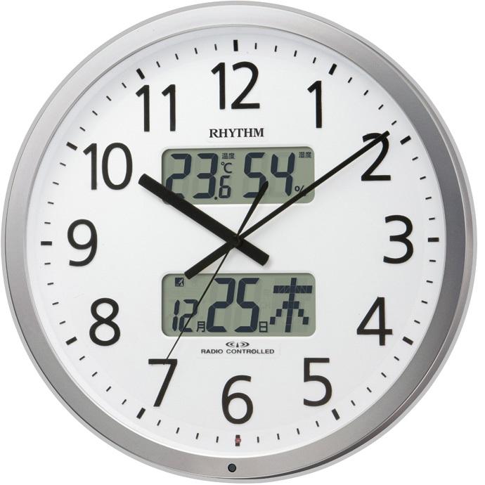 超格安一点 RHYTHM(リズム) 4FN404SR19 プログラムカレンダー404SR 電波掛け時計【リズム時計・掛時計・クロック】【お取り寄せ商品】【代引不可】, 激安 アウトレット家具 テリア 5f7e9b86