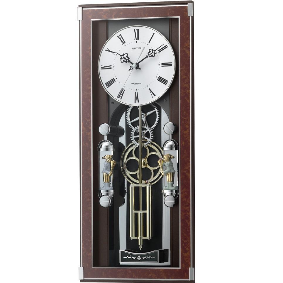 RHYTHM(リズム) 4MN535SR23 ソフィアーレプリモ 電波からくり時計【リズム時計・掛け時計・クロック】【お取り寄せ商品】【代引不可】