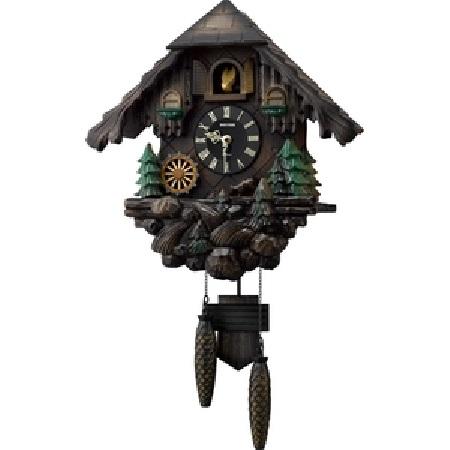 RHYTHM(リズム)4MJ422SR06 カッコーヴァルト カッコー時計 日本製【鳩時計・掛時計・クロック】【お取り寄せ商品】【代引不可】