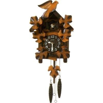 RHYTHM(リズム)4MJ234RH06 カッコーメイソンR カッコー時計 日本製【鳩時計・掛時計・クロック】【お取り寄せ商品】【代引不可】