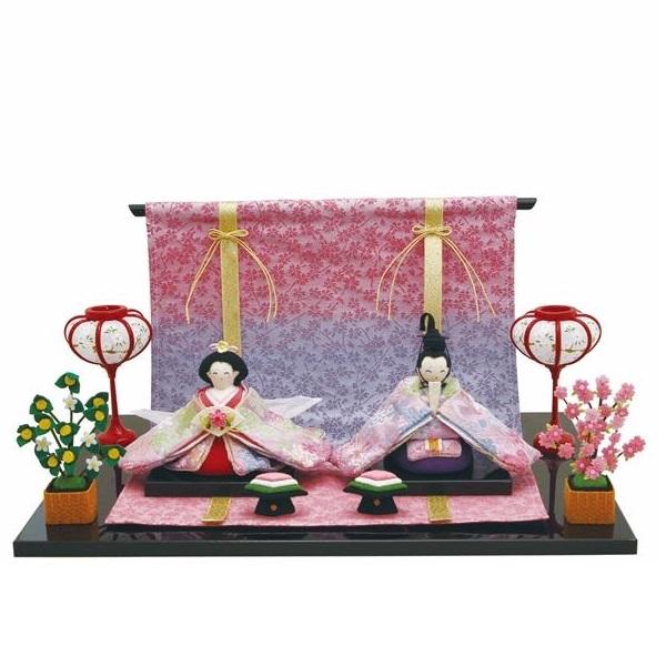 リュウコドウ 1-833 雛人形 雛飾り 夢霞雛【お取り寄せ商品】【送料無料(沖縄・離島を除く)】