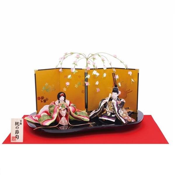 【送料無料(沖縄・離島を除く)】リュウコドウ 1-865 雛人形 雛飾り しだれ桜毬雛【お取り寄せ商品】