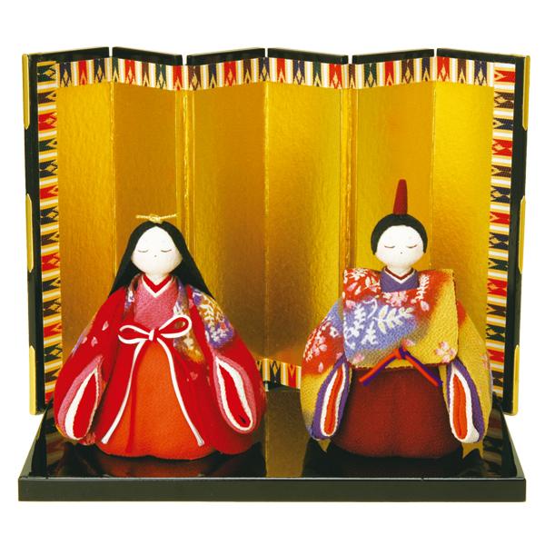 リュウコドウ 1-466 雛人形 ふっくら立姿 藤竜雛【お取り寄せ商品】【雛人形/ひな祭り/お雛様】