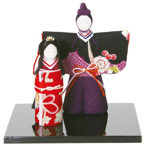 リュウコドウ 1-441 雛人形 彩華立雛【お取り寄せ商品】【雛人形/ひな祭り/お雛様】