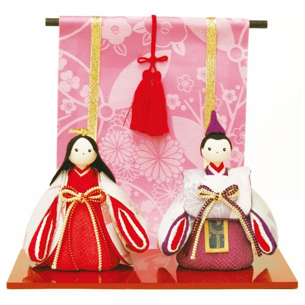 リュウコドウ 1-459 雛人形 ふっくら立姿雛【お取り寄せ商品】【雛人形/ひな祭り/お雛様】