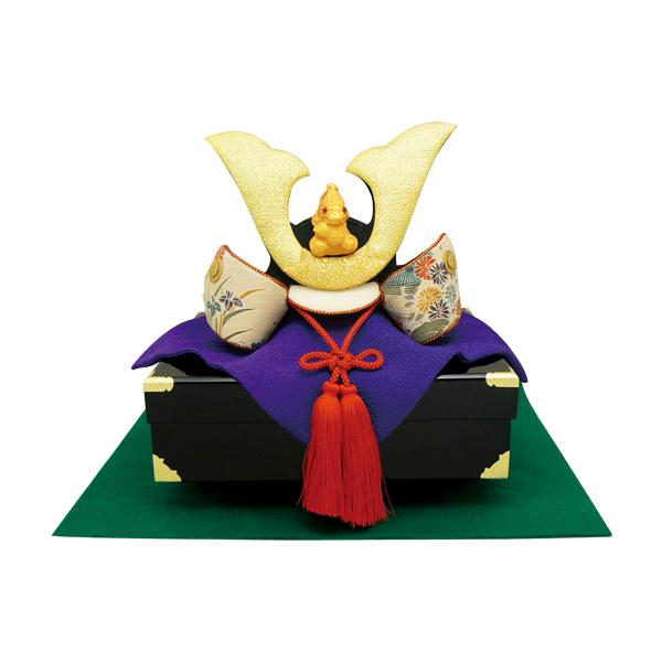 【送料無料(沖縄・離島を除く)】リュウコドウ 2-294 五月人形 櫃(ひつ)形台 兜飾り 【お取り寄せ商品】【端午の節句/五月人形/兜飾り/鯉のぼり】