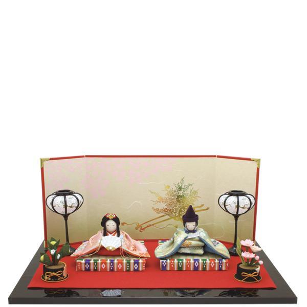【送料無料(沖縄・離島を除く)】リュウコドウ 1-751 雛人形 京華の舞座り雛【お取り寄せ商品】【雛人形/ひな祭り/お雛様】