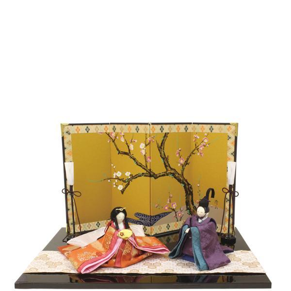 【送料無料(沖縄・離島を除く)】リュウコドウ 1-763 雛人形 紅梅雛飾り【お取り寄せ商品】【雛人形/ひな祭り/お雛様】
