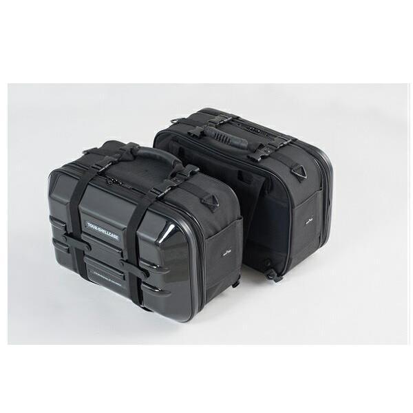 タナックス MFK-248 ツアーシェルケース2 ブラック MFK248【お取り寄せ商品】【TANAX/MOTO FIZZ/モトフィズ】