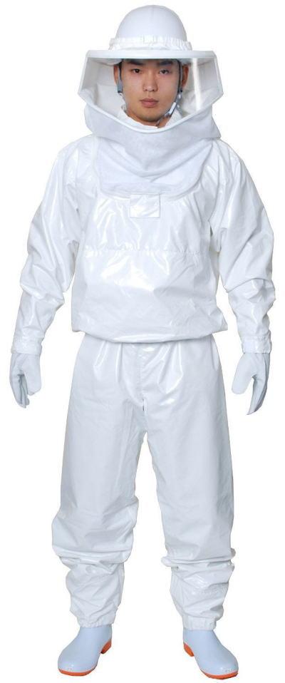 蜂防護服 ラプター3(V-1000) 手袋(V-4)付 より使いやすく安全に!蜂の脅威からしっかりガード![全国送料無料][代引手数料無料]