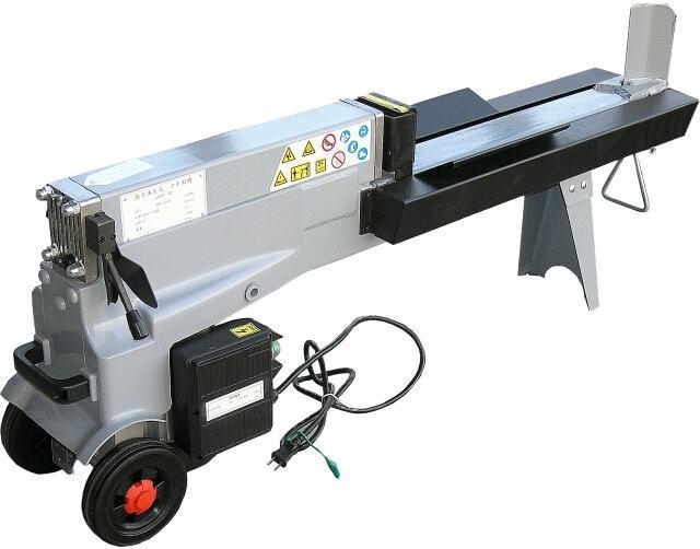 5トン電動油圧式薪割機 LS5T-52 直径25cm,長さ51cmまでの割木材までOK![送料無料][代引不可][北海道,沖縄,離島は送料別途見積り]