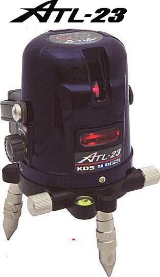 KDS レーザー墨出し器 オートラインレーザー ATL-23 本体のみ たち/水平/地墨 [送料無料][代引不可][北海道,沖縄は送料別途1,080円]